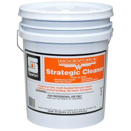 Spartan Woodforce Strategic Cleaner - 5 Gal.