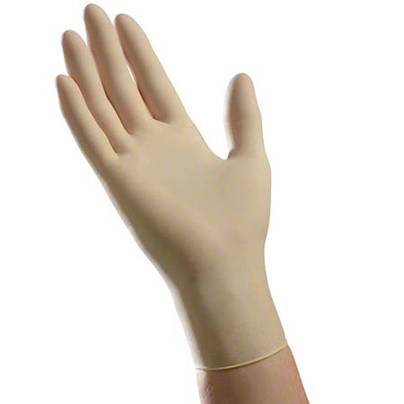 Ambitex® L200 Cream Latex Powder Free Exam Glove - Medium
