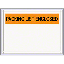 "LPS Pres-Quick® Packing List Enclosed Envelope-4.5"" x 5.5"""