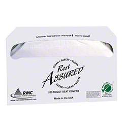 RMC 50RA Rest Assured® Toilet Seat Cover - Half Fold