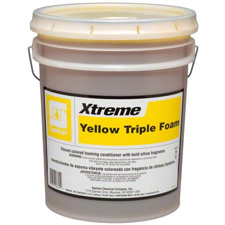 XTREME YELLOW TRIPLE FOAM 5GAL CAR WASH