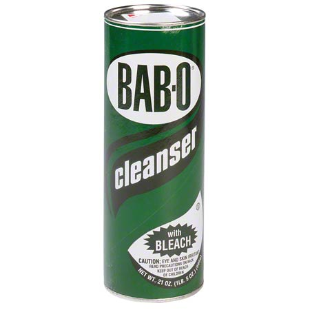 BABO POWDERED CLEANSER WITH BLEACH 21OZ 24/CS