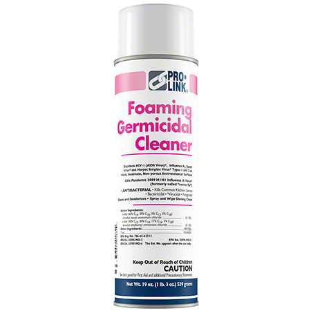 *G PRO-LINK FOAMING GERM CLEANER 19OZ 12/CS