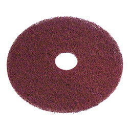 "PRO-LINK 20"" ELIMINATOR MAX BURGUNDY STRIP PAD 5/CS FLOOR"
