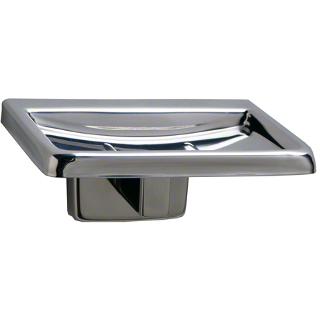 Bobrick Stainless Steel Surface-Mounted Soap Dish - Satin