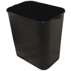 Impact® Pinch'm™ Soft-Sided Wastebasket - 14 Qt., Black