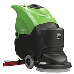 "IPC Eagle CT40BT50OBCP155 Traction Drive Scrubber - 20"" Pad,155AH"
