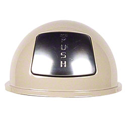 Rubbermaid® Dome Top For WB44 or WB2029 - Almond