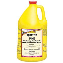 Simoniz® Quat 32 Pine Disinfectant/Odor Couteractant - Gal