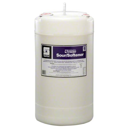 Spartan Clothesline Fresh™ Sour/Softener #9 - 15 Gal.