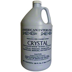 American Interlink Crystal Super Glass Cleaner - Gal.