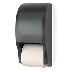 Palmer Two Roll Standard Tissue Dispenser - Dark Translucent