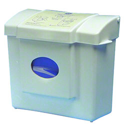 PRO-LINK® White ABS Plastic Sanitary Waste Receptacle