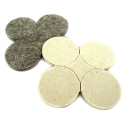 "PRO-LINK® Flexi-Felt Dark Wool Blend Pad - 1.5"" Disk"
