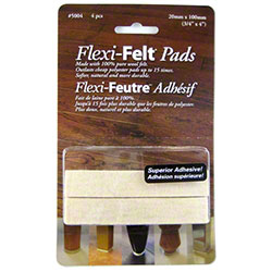 "PRO-LINK® Flexi-Felt Dark Wool Blend Pad -3/4"" x 4"" Strip"