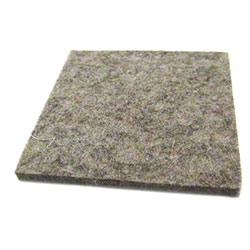 "PRO-LINK® Flexi-Felt Dark Wool Blend Pad - 3"" Square"