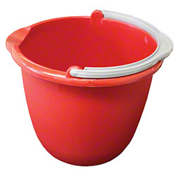 Tolco® 10 Qt. Red Medium Duty Valu-Bucket