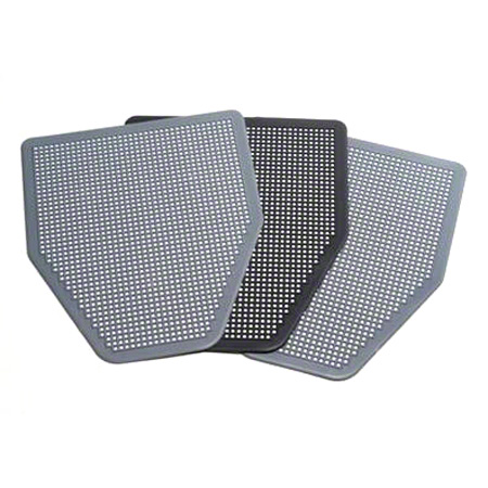 Absorbcore SaniPro Disposable Urinal Mat - Black, No Aroma