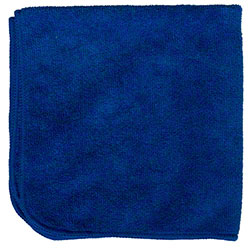 "Microfiber & More 16"" x 16"" Microfiber Cloth - Blue"