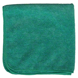 "Microfiber & More 16"" x 16"" Microfiber Cloth - Green"