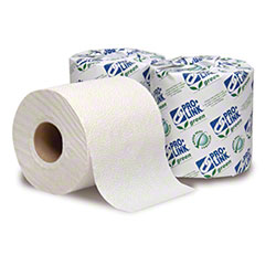 "PRO-LINK® Green Certified Toilet Tissue - 4 3/8"" x 3 3/4"""