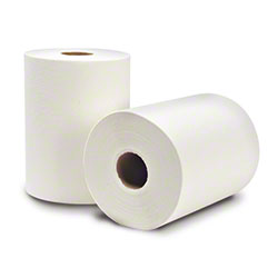 """WausauPaper® EcoSoft™ Roll Towel - 8"""" x 425', White"""