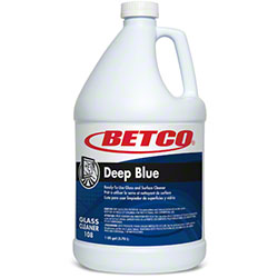 Betco® Deep Blue Glass & Surface Cleaner - Gal.