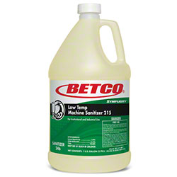Betco® Symplicity™ Low Temp Machine Sanitizer 215 - Gal