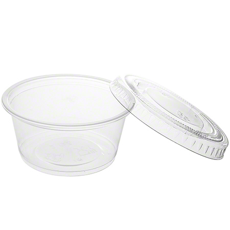 Crystal Ware Portion Cup Lid Only - Medium