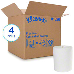 "Kleenex® Premiere Center Pull Paper Towel - 8"" x 15"", White"