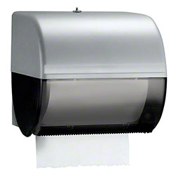 Kimberly-Clark® Omni® Manual Roll Towel Dispenser - Smoke/Black