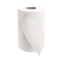 "Morcon™ Mor-Soft™ White Hardwound Towel - 8"" x 350'"