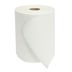 "Morcon™ Mor-Soft™ White Hardwound Towel - 8"" x 800'"