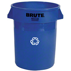 Rubbermaid® BRUTE® Recycling Container w/o Lid - 32 Gal.