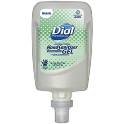 Dial® Fit® Manual Antibacterial Hand Sanitizer Gel - 1.2 L