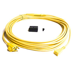 ProTeam® 50' Yellow Power Cord w/Strain Relief