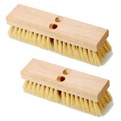 "Better Brush Deck Scrub Brush - 10"", Cream Plastic Fiber"