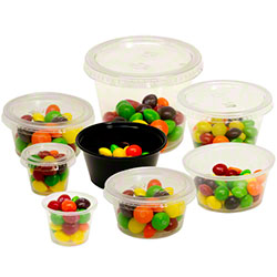 Empress™ Premium Portion Cups & Lids