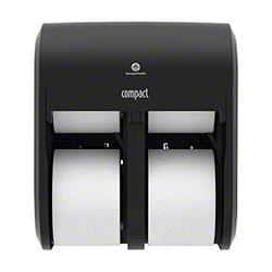 GP Pro™ Compact® Quad Coreless Tissue Dispenser - Black