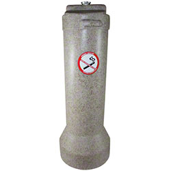 Impact® The Butler™ Smoker's Receptacle - Beige Granite