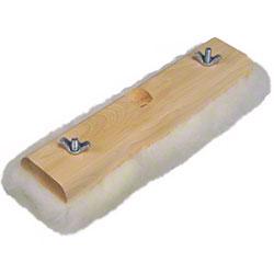 "Lambskin Floor Care Applicator Pad & Block - 12"""