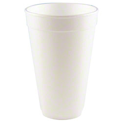 WinCup® White Foam Cups
