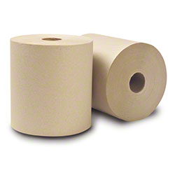 "WausauPaper® EcoSoft™ Roll Towel - 7.5""x800', Natural"