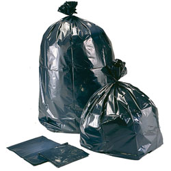 High Density Can Liner - 24 x 32, Black