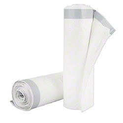 Inteplast Draw-Tuff® Can Liner - 36.5x44.5,  White