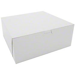 Southern Champion Lock Corner Bakery Box - 10 x 10 x 4