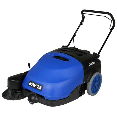 "28"" BSW WALK BEHIND SWEEPER W/ BATTERIES"