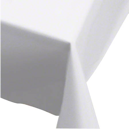 "40"" X 300' PLASTIC TABLE COVER ROLL WHITE"
