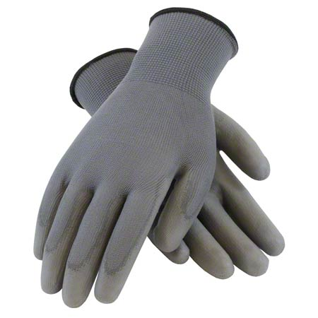 PIP LARGE POLYESTER POLY SMOOTH GRIP DIPPED GLOVE