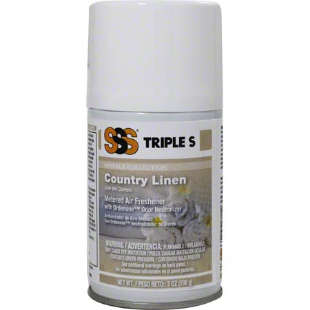SSS COUNTRY LINEN SYNERGY PREMIUM METERED AIR FRESHENER